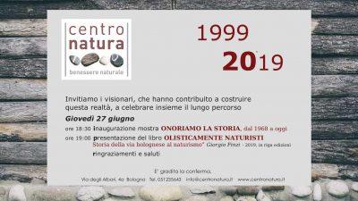 20 anni di centro natura, onoriamo la storia