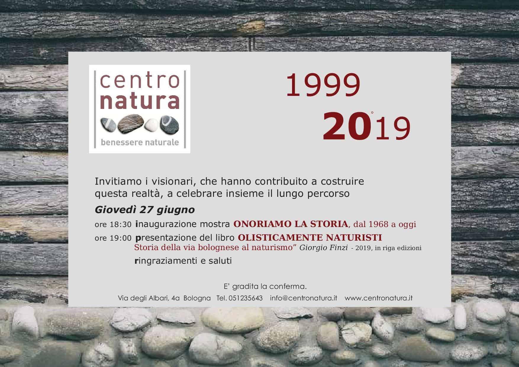 You are currently viewing 20 anni di centro natura, onoriamo la storia