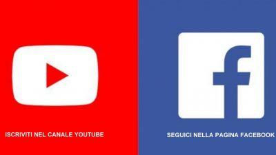 Lezioni su YouTube e Facebook